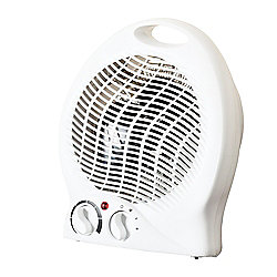 Fine Elements Upright Fan Heater, 2000W - White