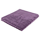 Tesco Egyptian Cotton Extra Large Bath Sheet Aubergine