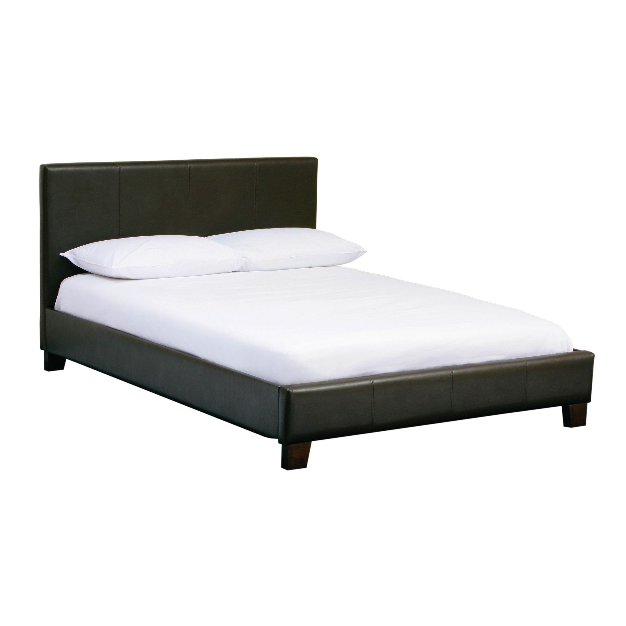 Premier Housewares Natalia Frame Bed - King - Chocholate at Tesco Direct