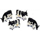 Friesian Cows - Pack Of 4 - Scale 1:32 - Britains Farm