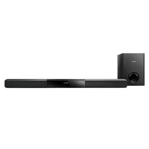 Philips HTL2150 60W Soundbar with External Sub