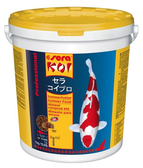 Sera Koi Professional Summer Fish Food - 2200 g