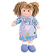 Bigjigs Toys 28cm Doll BJD003 Grace