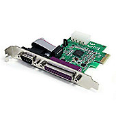 StarTech 16950 1S1P Native PCI Express Parallel Serial Combo Card
