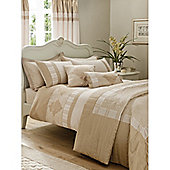 Catherine Lansfield Home Fine Luxury Collection Royal Manor Single Bed Duvet Cover Set Gold