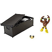 WWE Rumblers - Climb & Crash Playset with Kofi Kingston Mini Figure - Mattel