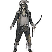 Ghost Ship Ghoul - Adult Costume Size: 46-48