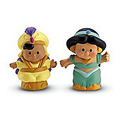 Fisher-Price Little People Disney 2 Pack: Jasmine and Aladdin