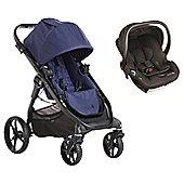 Baby Jogger City Premier Travel System - Indigo