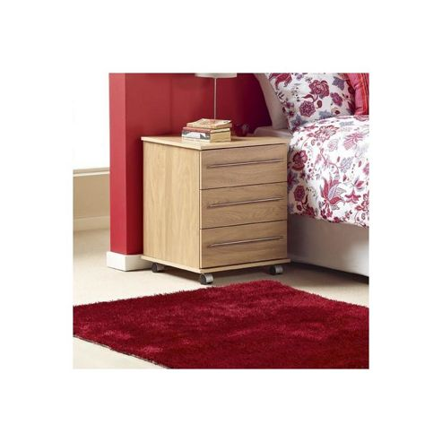 Ideal Furniture Bobby Four Drawer Chest - Oak