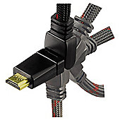 Hama High Speed HDMI cable HQ for PS3 180° rotation 2M for Games