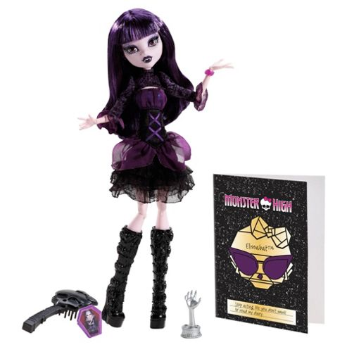 Monster High - Black Carpet Fright - Elissabat Doll
