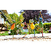 Set of 4 Yoga Frogs