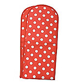 Rushbrookes Red Flamenco Dot Double Oven Glove