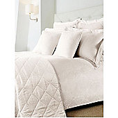 Luxury Hotel Collection Damask Oxford Pillowcase Pair Cream