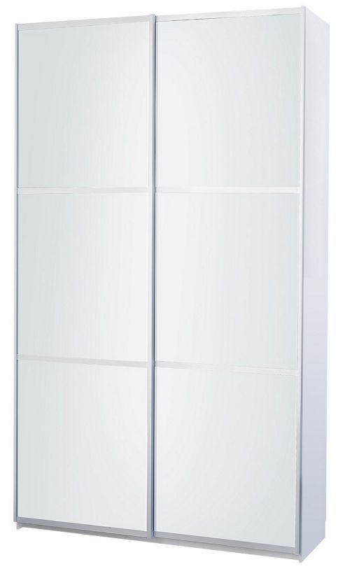 Altruna Sliding Door Wadrobe - White