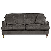 Florence Medium 2 Seater  Sofa Velvet Pewter