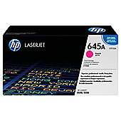 HP 645A LaserJet Toner Cartridge - Magenta