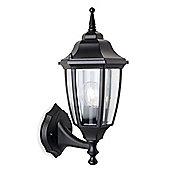 Firstlight Faro Uplight Outdoor Wall Lantern in Black