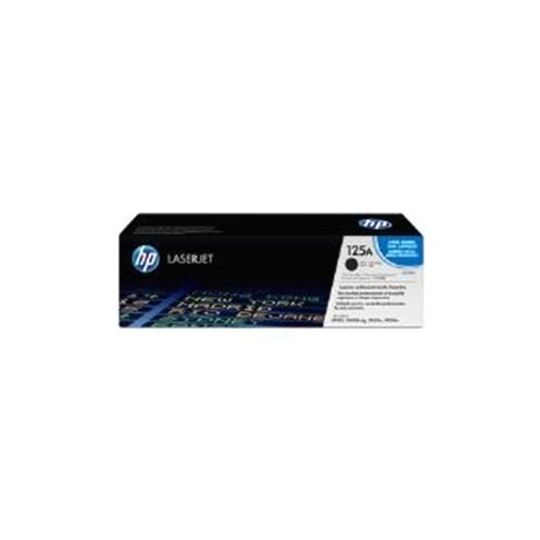 HP 125A Dual Pack LaserJet Toner Cartridges Black