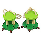 Bigjigs Toys BJ868 Crocodile Footwalkers