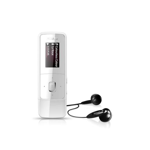 Philips SA3MXX04LA/02 GoGEAR MP3 Player with Direct USB FullSound & 4 GB Memory