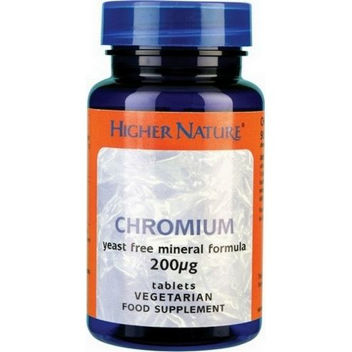 Higher Nature Chromium 60 Tablets