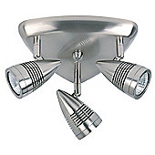 Endon Lighting Ceiling Spot Light in Satin Chrome