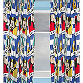 Mickey Mouse Polaroid Curtains 66 inch x 54 inch (168cm x 137cm)