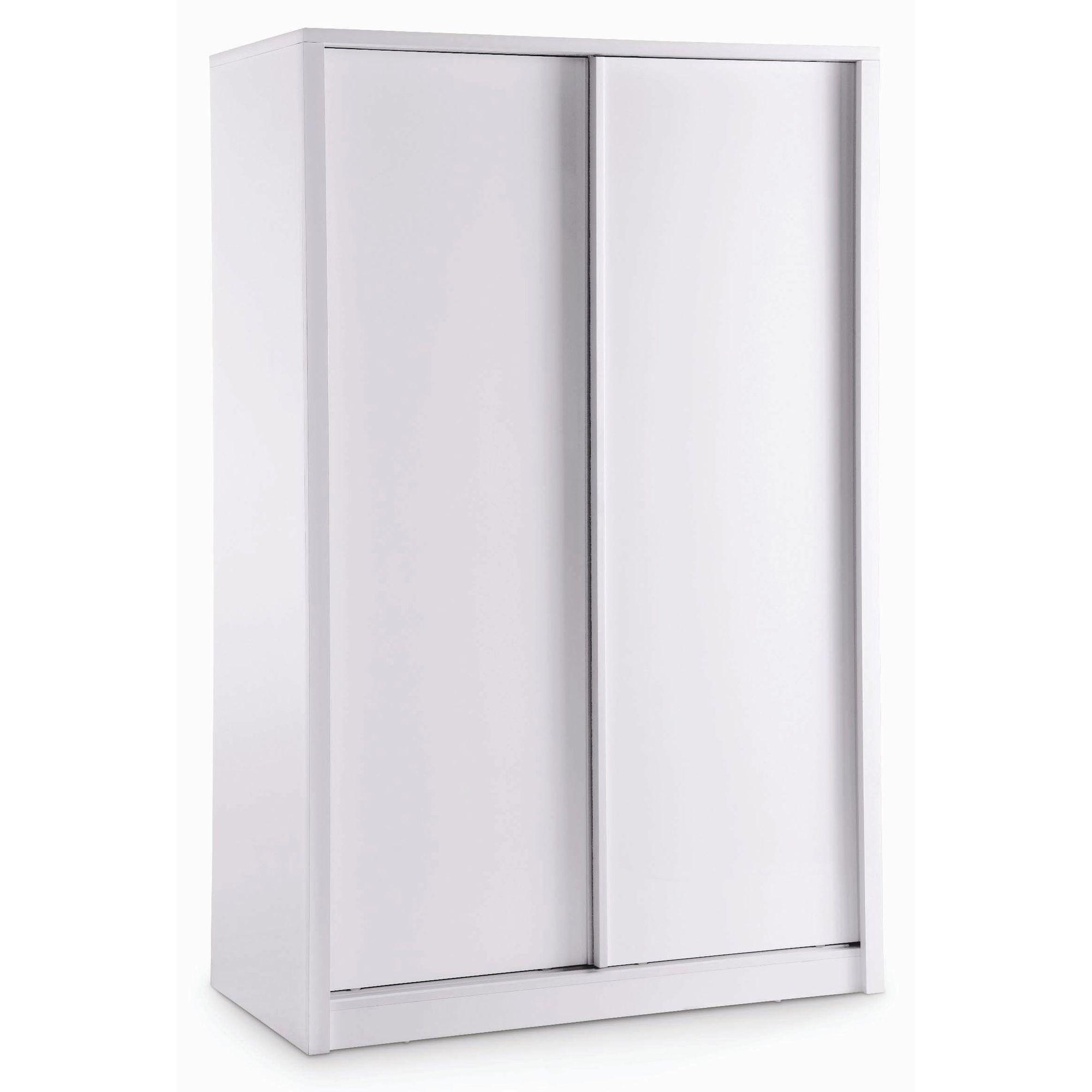 Home Zone Novello Sliding Wardrobe - White at Tesco Direct