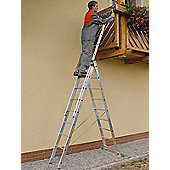 DIY 4Way 3.15m (10.33ft) Double Combination Ladder