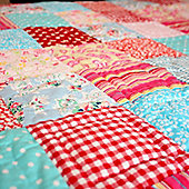 Tea Party Children's Quilt