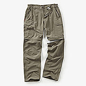 Craghoppers Mens Nosilife Convertible Trousers - Stone