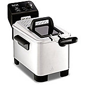 Tefal FR333040 Easy Pro Semi Professional Stainless Steel Deep Fat Fryer, 1.2 kg, 2200 W