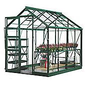 Rhino Harvest Greenhouse – 6x8 - Bay Tree Green Finish