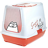 Sharples N Grant Simon's Cat Hooded Loo Litter Box