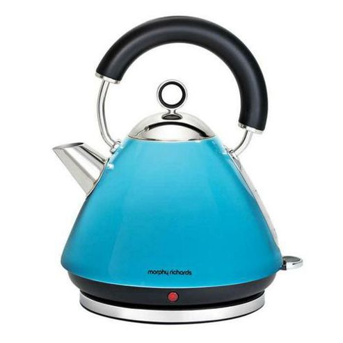 Morphy Richards 1.5L Accents Boutique Traditional Pyramid Kettle - Blue