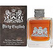 Juicy Couture Dirty English Eau de Toilette (EDT) 100ml Spray For Men