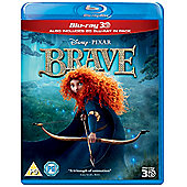 Brave - (3D Bluray, 2D Bluray & Bonus Disc)