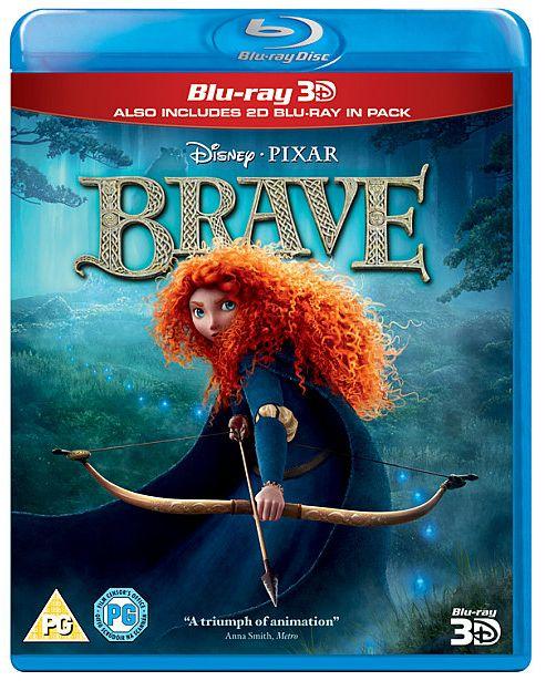 Brave - (3D Blu-ray, 2D Blu-ray & Bonus Disc)