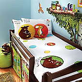Izziwotnot Single Bed Duvet Cover & Pillowcase Set - Gruffalo
