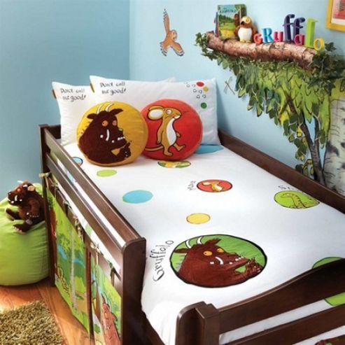 Izziwotnot Single Bed Duvet Cover & Pillowcase Set - Gruffalo