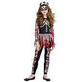 Scared to the Bone - Child Costume 12-14 years