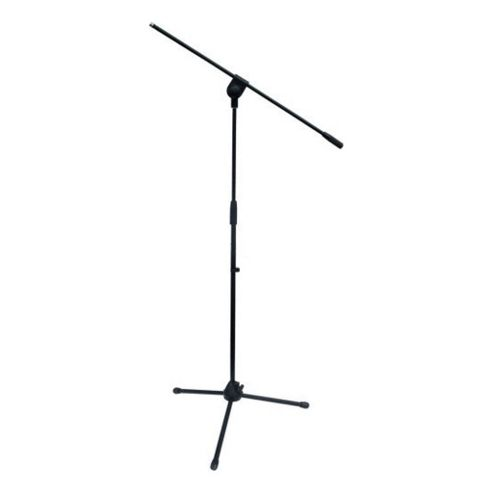 Microphone Stand With Adjustable Removable Boom Black