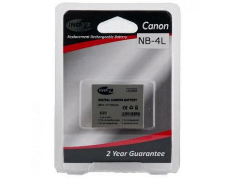 INOV8 Equivalent Digital Camera Battery for Canon NB-4L