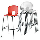 Rexite Olivia Bar Stool - Red