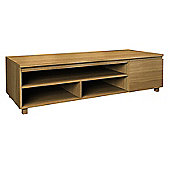 Jitona Hadlee Contemporary Oak Livingroom 1 Door Entertainment Unit
