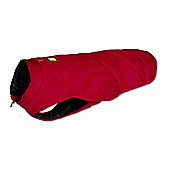 Ruff Wear Quinzee Insulated Dog Jacket in Red Rock - Medium (69cm - 81cm W)