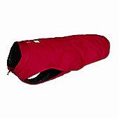 Ruff Wear Quinzee? Insulated Dog Jacket in Red Rock - Medium (69cm - 81cm W)