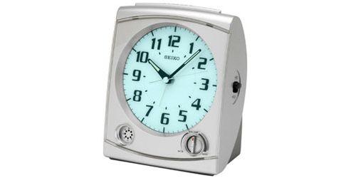Seiko QHE050S Bedside Alarm Clock